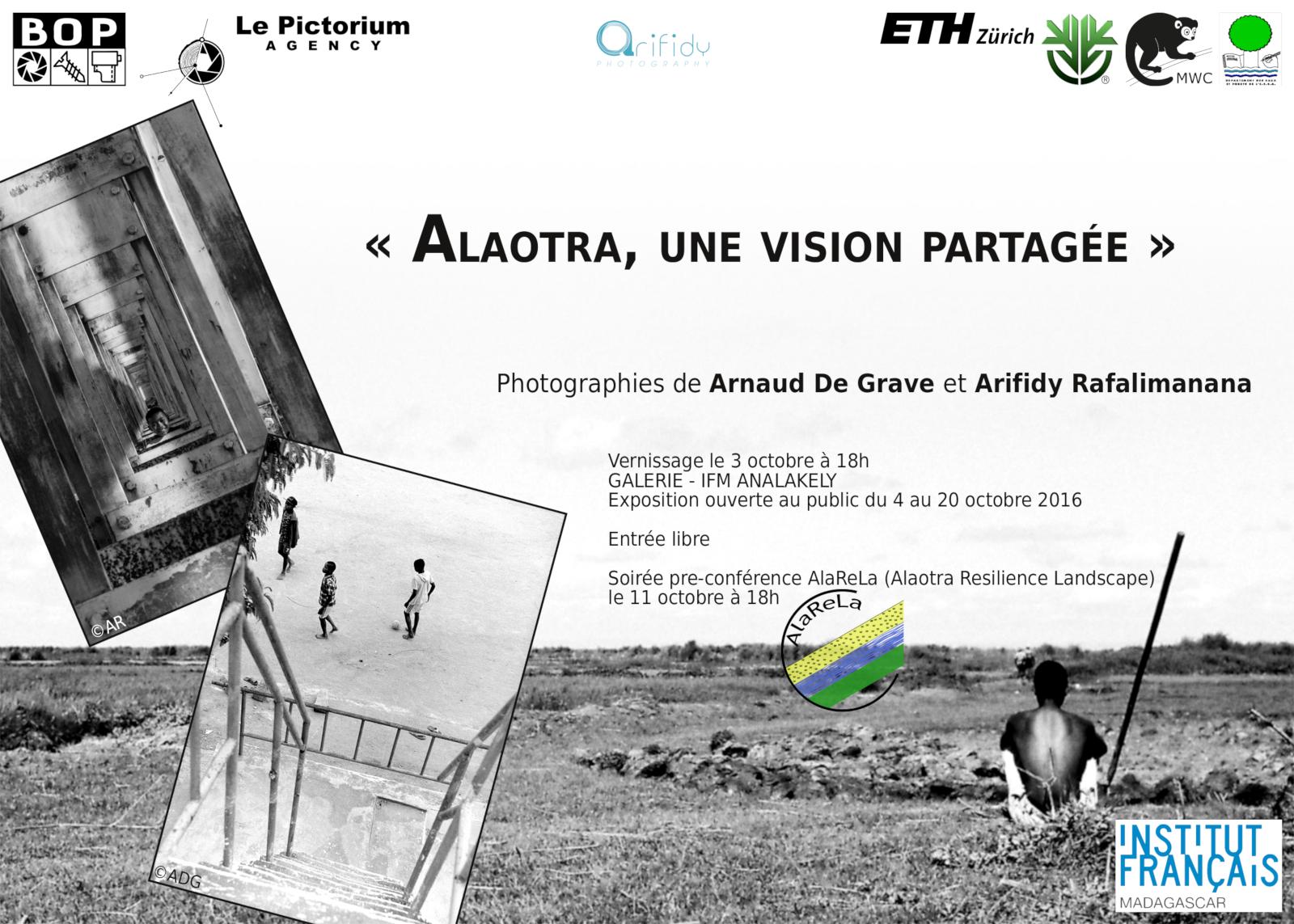 Flyer exposition AlaReLa @ IFM