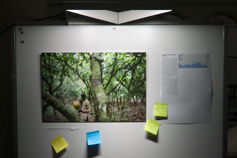 "Installation @ Latsis Symposium June 2018 - ""A tale of two forest usages in Ghana"" story"